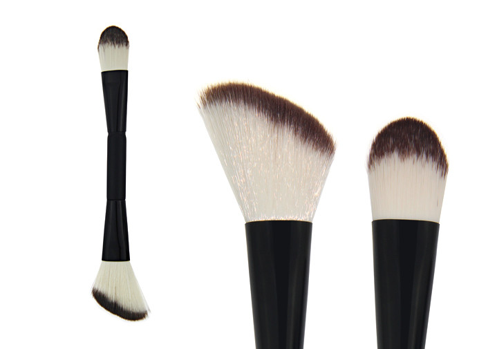 Double End Makeup Synthetic Foundation Brush / Concealer Blending Brush